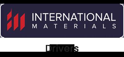 International Materials Drivers